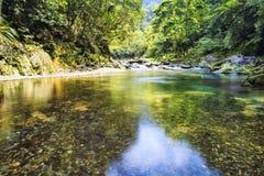Barrel river, Taiwan Royalty Free Stock Images