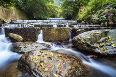 Barrel river, Taiwan Stock Photo