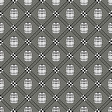 Barrel seamless background. National holiday Germanys Oktoberfest beer. Seamless pattern with barrels. Patterns can be used as background, fabric print, texture Royalty Free Stock Photo