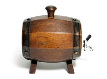 Barrel with Side view Royalty Free Stock Photos