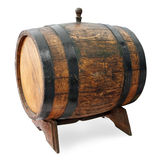 Barrel on stand Royalty Free Stock Photo