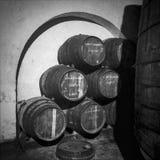 Barrel Storage In Cellar Stock Photography
