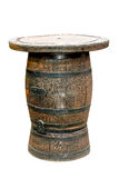 Barrel table isolated Stock Images