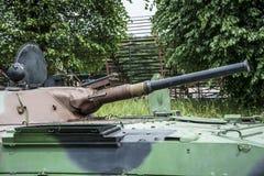 Barrel tank Stock Photo