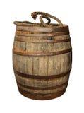 barrel trä arkivbild