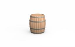 barrel trä stock illustrationer