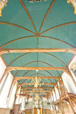 A barrel-vault type of church-ceiling Stock Image