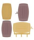Barrel. Vector illustration (EPS 10 stock illustration
