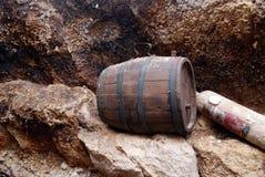 A barrel of wine Stock Photo