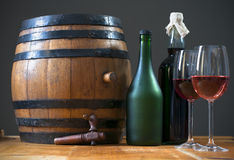Barrel wine Royalty Free Stock Images