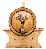 Barrel of wine Royalty Free Stock Image