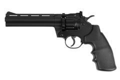 barreled枪仿制长的左轮手枪 免版税库存图片