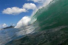 barrelingwave Royaltyfria Bilder