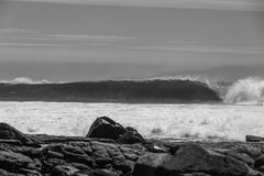 Barrelling волны Стоковое фото RF