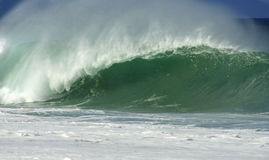 Barrelling Wave Stock Photography