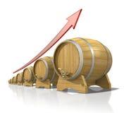 barrels деревянное Стоковые Фотографии RF