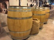 barrels деревянное Стоковые Изображения RF