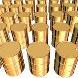 barrels золотистое Стоковая Фотография RF