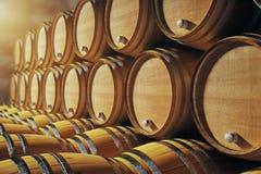 Barrels крупный план иллюстрация вектора