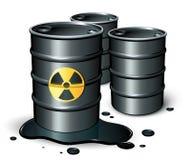 barrels нефть Стоковые Фото