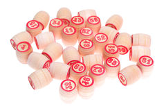 barrels номера lotto сыграйте к Стоковая Фотография