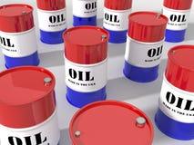 barrels отечественное масло США Стоковое Изображение RF