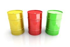 barrels промышленное Стоковая Фотография RF