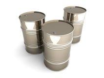barrels промышленное Стоковое Изображение