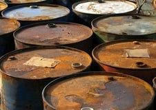 barrels ржавое Стоковые Изображения