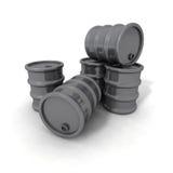 barrels серый цвет Стоковые Изображения