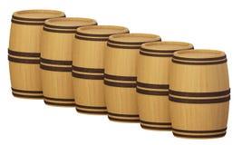 Barrels2 Στοκ εικόνες με δικαίωμα ελεύθερης χρήσης