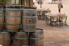 Barrels Stock Image