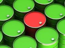 A barrels Stock Image