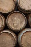 Barrels. Stack of barrels Royalty Free Stock Images