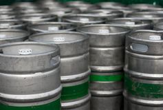 Barrels Royalty Free Stock Photo