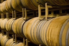 Barrels Stock Image