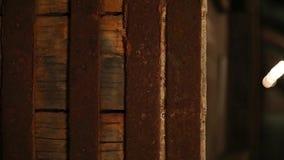 Barrels_009 video d archivio