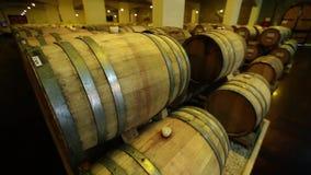 Barrels_001 stock footage