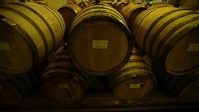 Barrels_007 stock footage