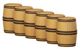 Barrels2 Royalty Free Stock Images