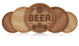 Barrels of Beer Stock Photos