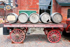 Barrels and Carriage Stock Images