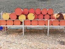 barrels datoren frambragd bildolja Royaltyfri Foto