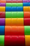 barrels färgrikt Arkivbilder