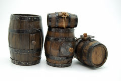 Barrels of fun Stock Photography