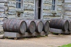 barrels gammalt Arkivfoto