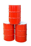 Barrels isolated Stock Photography