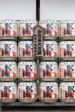 Barrels of japanese sake Stock Photography