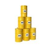 Barrels of oil Stock Photos