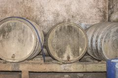The look of the old wine cellar royalty free stock image